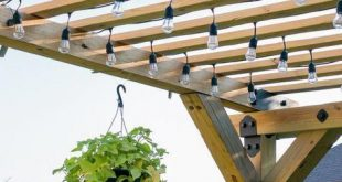 Hi friends! Im excited to be back to share how we built this gorgeous pergola 2...