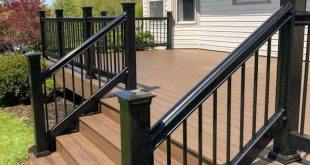 How to Replace Your Deck with a Lowe's Composite Deck by Tropics | Centsible Cha...