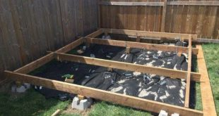 If youre thinking of building your own floating deck Ive put together a step b ...
