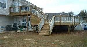 Image detail for -deck with pool project multi level deck and pool client misty ...