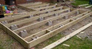 Image result for how to build a floating deck on dirt #PergolaHotTub