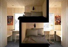 Ótima solução para quartos compartilhado. Marcenaria incrível né? [Projeto ...