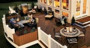 Outdoor patio ideas deck stairs 35 ideas for 2019 2019 Outdoor patio ideas dec...