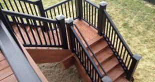 Super Deck Stairs Diy House 31+ Ideas