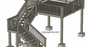 Tall deck stairs ideas 65+ New Ideas