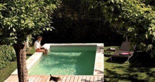 Wie baue ich einen Pool in einen kleinen Hinterhof?