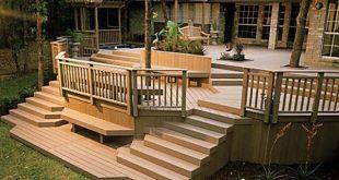 Wooden deck designs