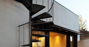 outdoor spiral staircase and wide-open walls a favorite combination! PC House ...